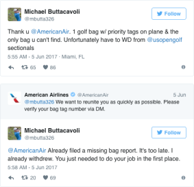 michael buttacavoli american airlines interaction part 1