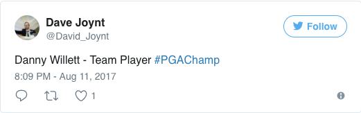 screenshot of Dave Joynt's tweet