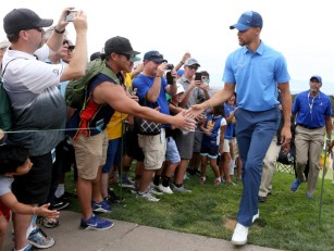 Warriors' Stephen Curry Web.com Tour Ellie Mae Classic TPC Stonebrae Hayward